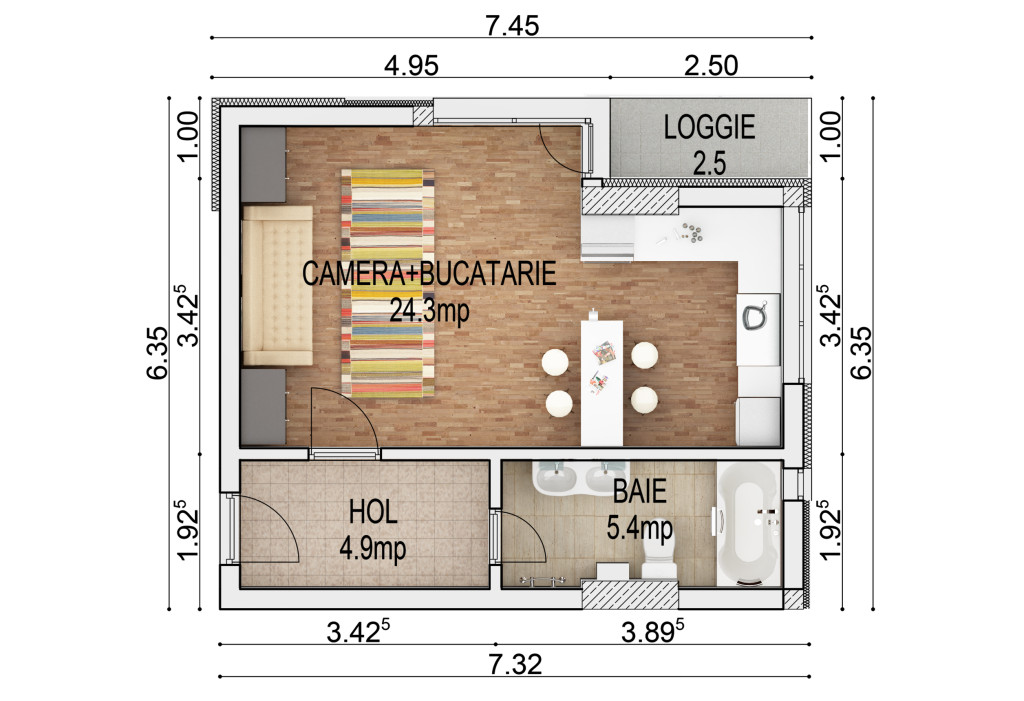 garsoniera_37mp_etaj_curent_plan_simplu_cote